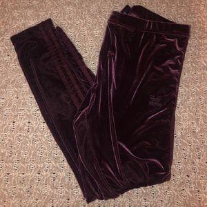 Velvet Adidas Leggings